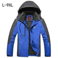 Spring Autumn Men Jacket Large Size Coats For Men Jaqueta Windbreaker Fashion Male Tourism Jackets Sportswear