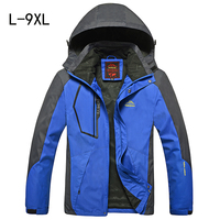 Spring Autumn Men Jacket Large Size Coats For Men Jaqueta Windbreaker Fashion Male Tourism Jackets Sportswear