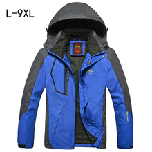 Spring autumn men jacket Large size coats for men jaqueta Windbreaker fashion male tourism jackets sportswear waterproof Wind