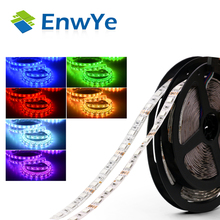 5050 RGB Led Strip 5M 60pcs/M 300LED Flexible Light + 12V 5A 24W Power Adapter + 24Key Remote Controller