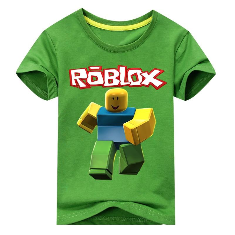 Mutter & Kinder T-shirts 2018 Baby Sommer Neue Roblox Spiel Design T Tops Kostüm Für Kinder Kurze T Shirts Junge Weiß Casual T-shirt Grils T-shirt Wj089