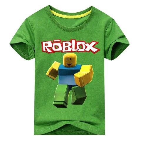 f6dda9c7 Kids Roblox Tees Tops Clothes Children 3D Games Print T-shirt Clothing For  Boys Girls Summer Tshirt Costume Baby T Shirt DX107 in Pakistan