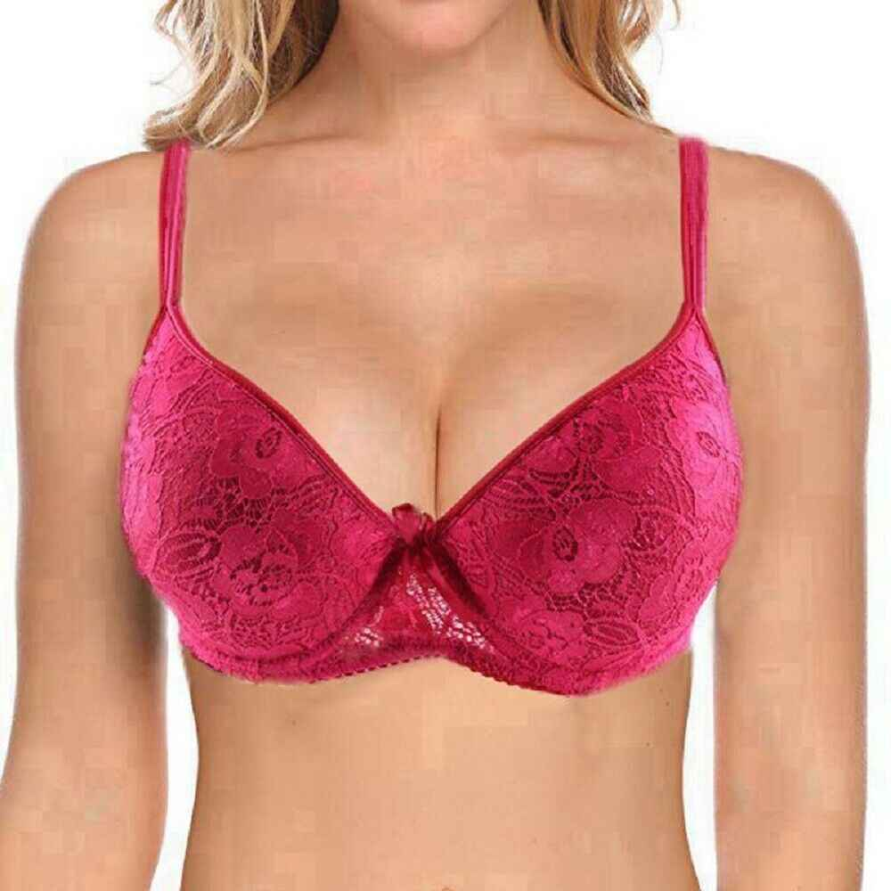 Plus Size Bra B C D Cup Sexy Lace Bras For Women Large Push Up Bralette Lingerie thin Brassiere 75 80 85 90 95 100 105 110 115