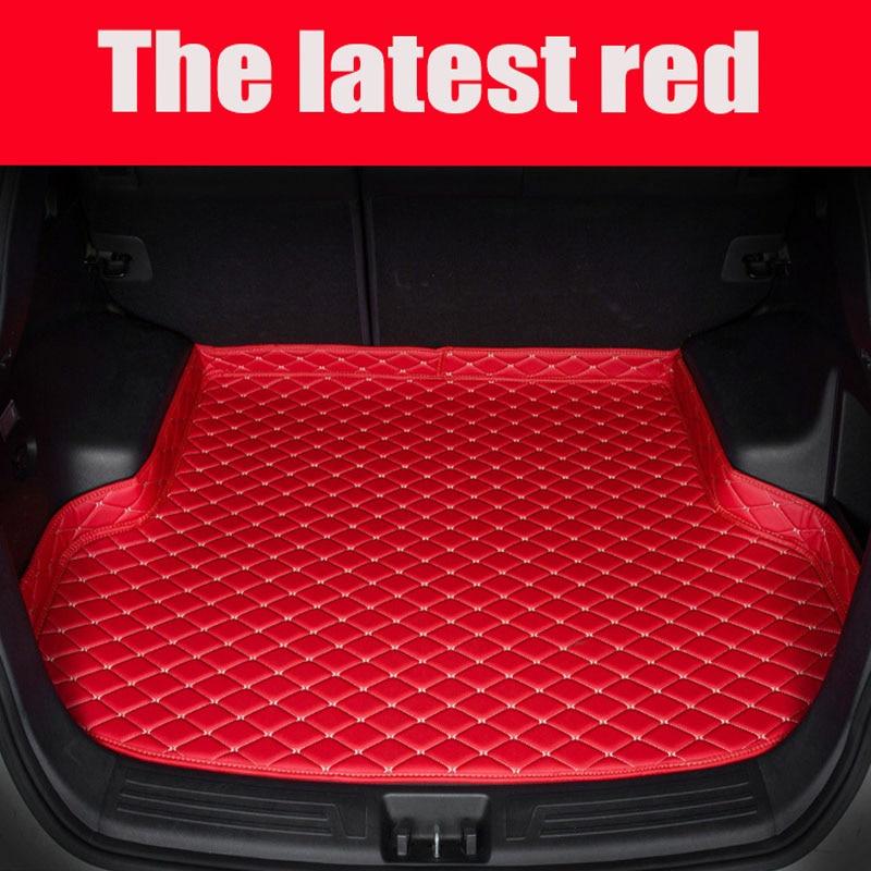 Custom fit car Trunk mats for Kia Sorento Sportage Optima K5 Rio/K2 Cerato K3 Soul Cadenza Carens car styling liner|  - title=