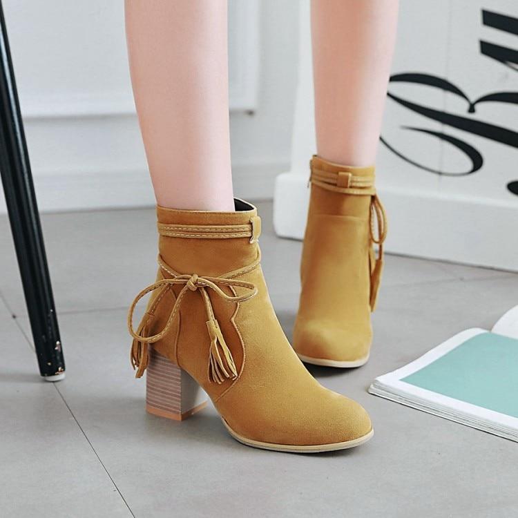 Style Arc De Chaussures Épais FemmesChevalier yellow Haut BottesTalon Automne Black Bottes Nouvelle Et RomainSauvage Hiver Avec Femmes blackwintergraywintergray Faible tQrsdhC