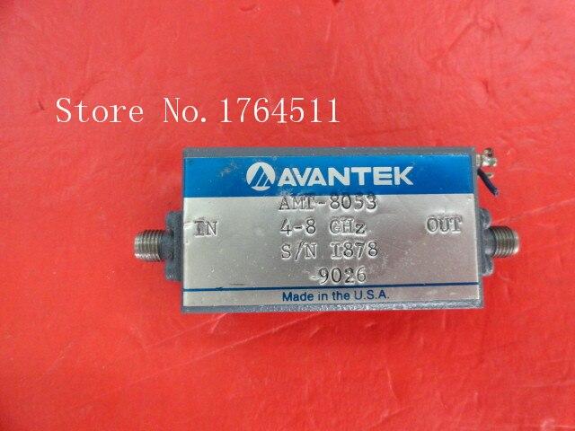 [BELLA] AVANTEK AMT-8053 4-8GHz 12V SMA Supply Amplifier
