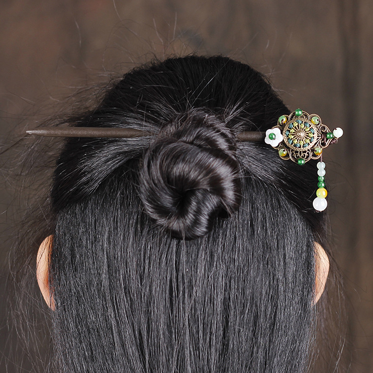 Vintage Chinese Jewelry Hairpin 3