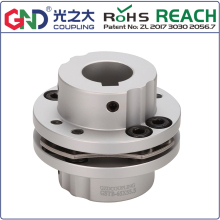 GSTB 8 screw high rigidity step type single diaphragm keyway series shaft coupling