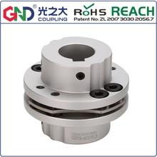купить GSTB 8 screw high rigidity step type single diaphragm keyway series shaft coupling по цене 612.23 рублей