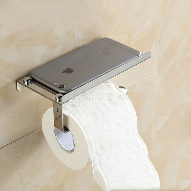 wall p holder finish hafele paper toilet silver roll bathroom mounted
