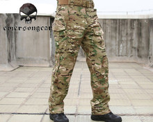 Emerson G3 Tactical Pants with Detachable Knee Pads Adjustable Airsoft Military Army Trousers Outdoor Hunting Training Clothing