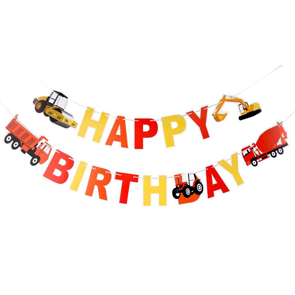 Aliexpress.com : Buy Engineering Vehicles Theme Happy