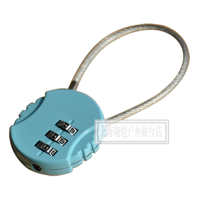 Quality soft steel wire luggage lock luggage lock kitchen cabinet ...