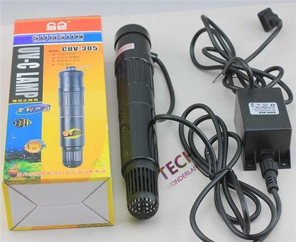 SUNSUN CUV 305 Aquarium fish tank UV Sterilisasi Cahaya Lampu UV Air Clarifier Germicidal Menghilangkan alga deodoran filter