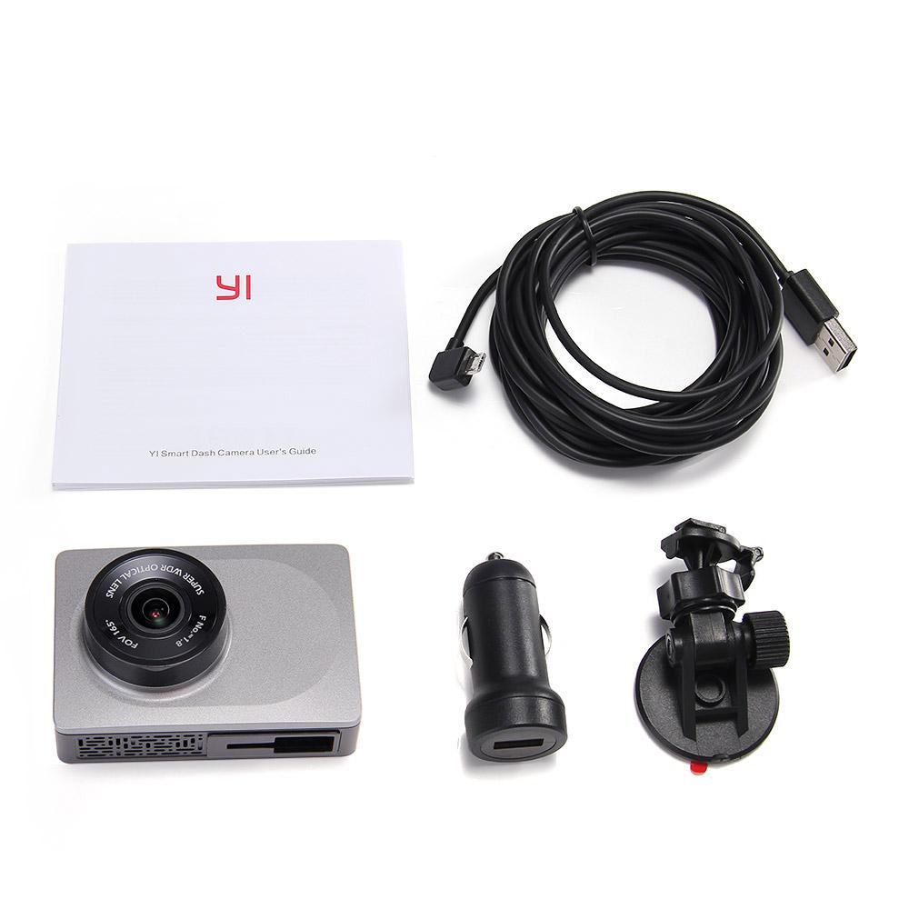International Edition Xiaomi Yi Smart Car Dvr 165 Degree 27 Dash Xiaoyi Dome Cctv 1080 1080p Full Hd Mmc 16gb General Brand