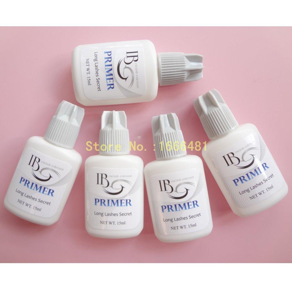 5pcs Eyelash Extension Primer Used On Roots Of False Eyelashes Make Eyelash Glue Stronger Keep Lashes Stay Longer