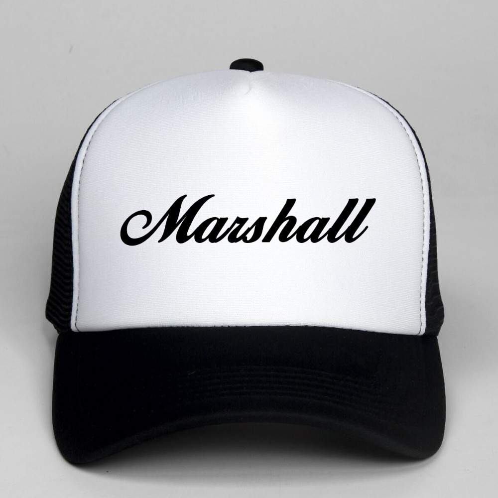 DongKing Fashion Marshall Baseball Cap Snapback Hats Adjustable Trucker Hats Rock Cap Hip Hop Hat Unisex Hat Trucker Cap кабель микрофонный schulz kabel cod 15