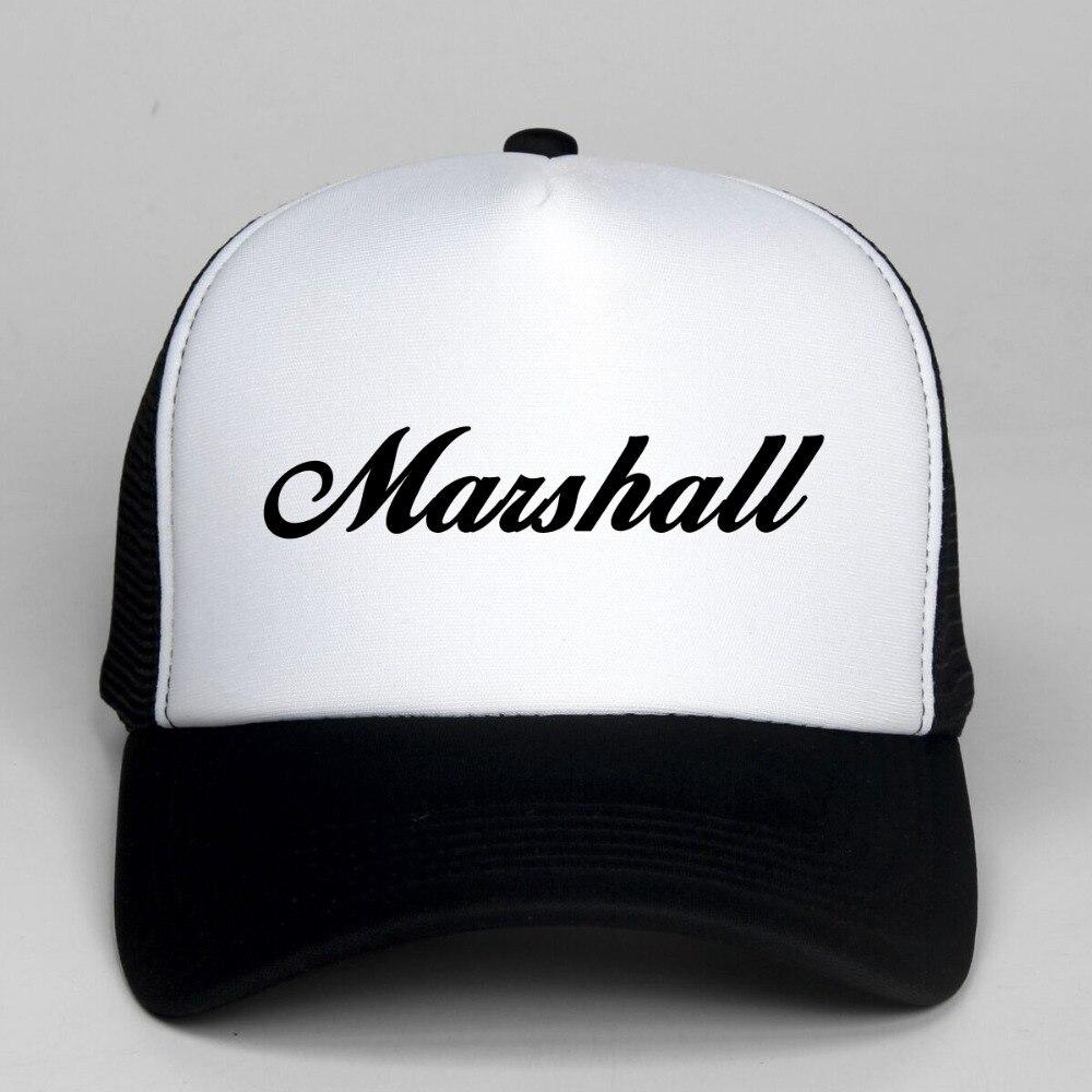 DongKing Fashion Marshall   Baseball     Cap   Snapback Hats Adjustable Trucker Hats Rock   Cap   Hip Hop Hat Unisex Hat Trucker   Cap