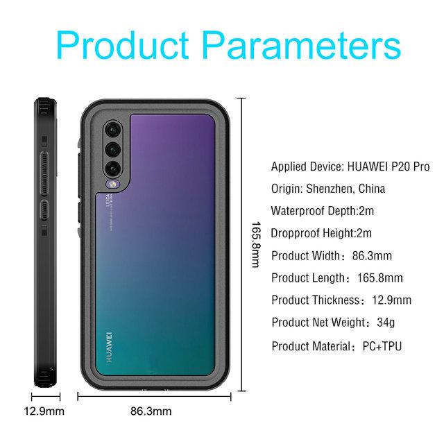 Huawei P20 Waterproof Case
