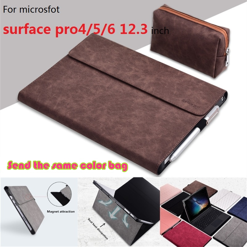Laptop Case for Microsoft Surface pro 4 foldable Laptop Holder for Surface New pro 5 Notebook