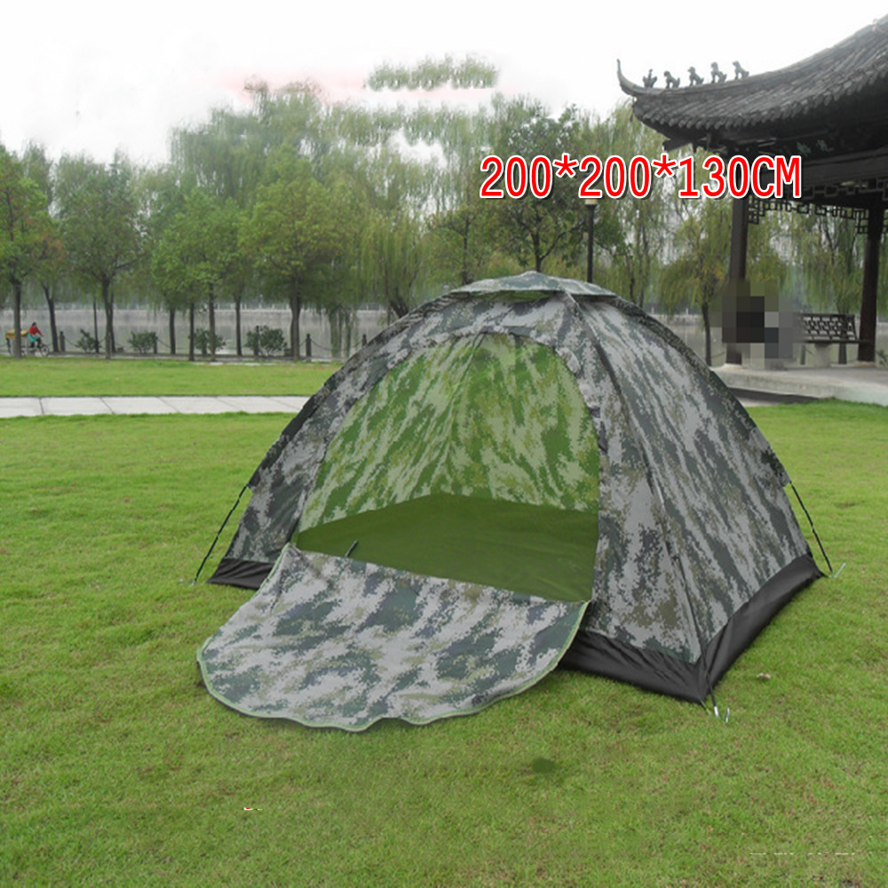Outdoor Hiking C&ing Gear Ultralight Summer Travel Tent Tourist 2 Person C&ing Tent Camo Single Tente Camouflage Hunting-in Tents from Sports ... & Outdoor Hiking Camping Gear Ultralight Summer Travel Tent Tourist ...