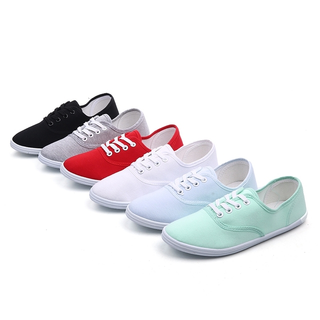 Canvas Tennis Shoes