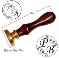 customize logo Personalized image custom seal wax sealing stamp wedding Invitation Retro antique stamp name initials custom
