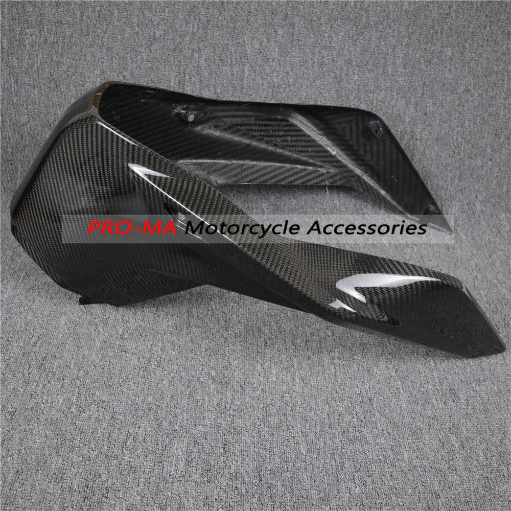 Motorcycle Front Tank Cover In Carbon Fiber For KTM Duke 790 2018-2019 Twill Glossy Weave