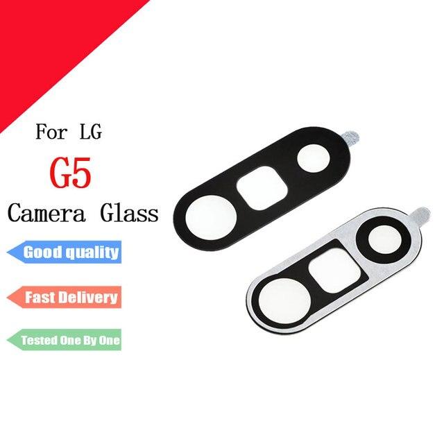 New Rear Trở Lại Máy Ảnh Glass Lens Bìa Với Nhãn Dán Dính Cho LG G5 H850 H820 H830 VS987 LS992 Thay Thế