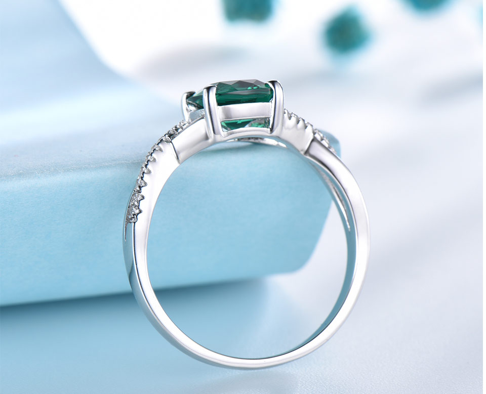 UMCHO-Emerald-925-sterling-silver-rings-for-women-RUJ086E-1-pc_05