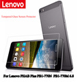 "For Lenovo PHAB Plus PB1-770M PB1-770N 6.8"" flatbed Tempered Glass Screen Protector 2.5 9h Safety Protective Film"