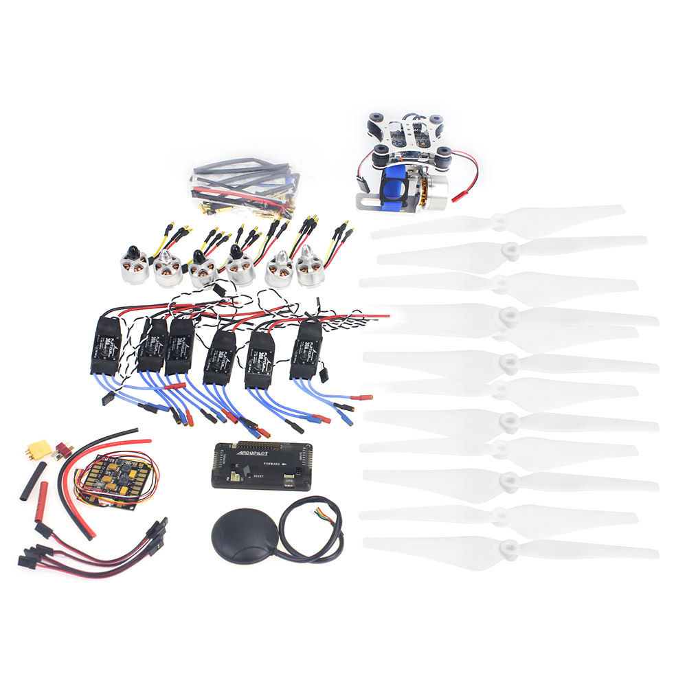 F14711-H  D2212 920KV  Brushless Motor 30A ESC Propeller GPS APM2.8 Brushless Camera Gimbal for MultiCopter Hexacopter UFO Heli