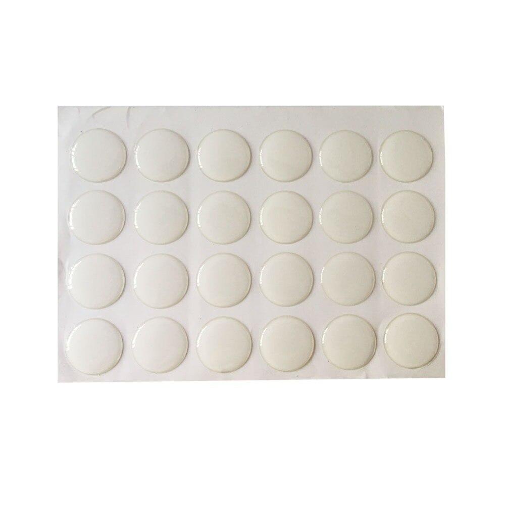 100 шт. 25 мм 1 дюймов Круглый Смола прозрачный эпоксидный клей КРУГИ наклейки на крышечки для бутылок для craft DIY BTN-5726