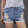 Women Summer Shorts with High Waisted Denim Shorts Jeans for Women Casual Women's Short Jeans Feminino Denim Short Femme DK1A