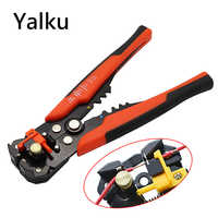Yalku Crimper Cable Cutter Automatic Wire Stripper Multifunctional Stripping Tools Crimping Pliers Terminal 0.2-6.0mm2 Tool