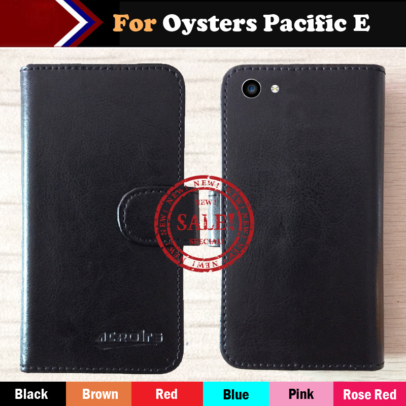 Oysters Pacific E Case Hot!!In Stock 6 Colors Luxury Leather Exclusive For Oysters Pacific E Phone Cover+Tracking