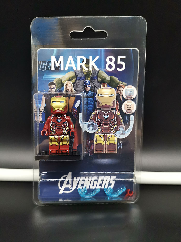 Single Sale Compatible LegoINGlys Super Heroes  Avengers 4 Endgame  IRON MAN MARK 85 Building Blocks Model Toys Gift Children