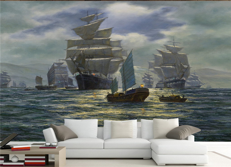 Photo Wall Murals Wallpaper 3D Classic Painting Background 3D Wallpaper Living Room Aisle Hotel TV Wall Study Hoom Decor Murals