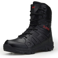 NAUSK Winter Men Military Boots Quality Special Force Tactical Desert Combat Ankle Boats Army Work Shoes Keep Warm Snow Boots