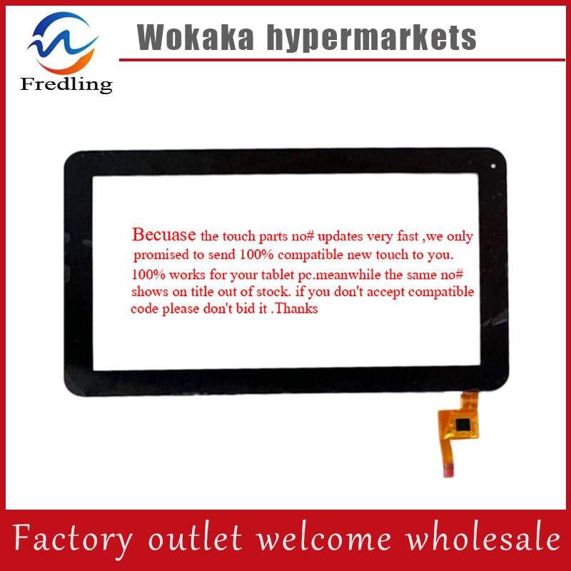 Black New Capacitive touch screen digitizer glass touch panel Sensor for 10.1 inch wolder miTab BROOKLYN Tablet Free Shipping new touch screen 10 1inch for wolder amsterdam vermont touch panel digitizer glass sensor replacement free shipping