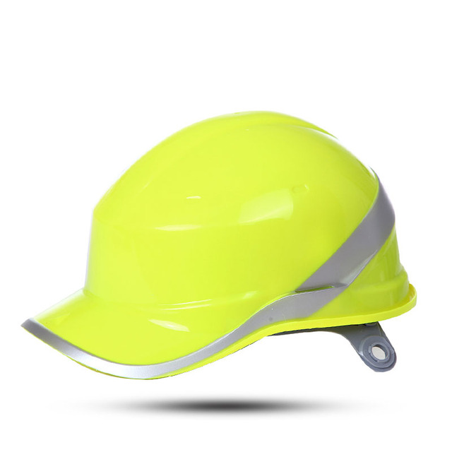 Deltaplus Construction Safety Helmet Hard Hat ABS insulation material with phosphor stripes Insulating Protect work helmet