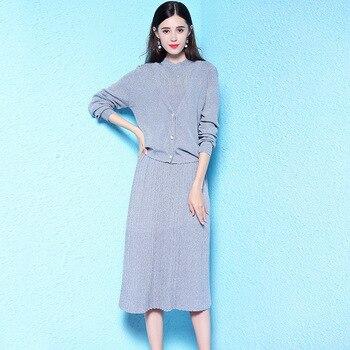 blue knit dress tube maxi plus size women viscose long casual shirt dresses 2019 summer autumn Bohemia fem me sexy 2 piece Suit