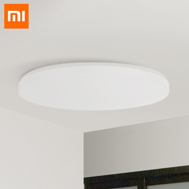 Xiaomi Ceiling Light Yeelight Led Bluetooth WiFi Remote Control Fast Installation For xiaom Mi home app Smart home kit xiaomi yeelight led ceiling pro 650mm rgb 50w work to mi home app and google home and for amazon echo for xiaomi smart home kits