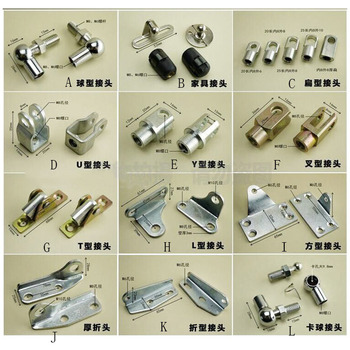 Free shipping  Ball Studs Lift Strut Gas Spring Ending Fittings many item for choose in here
