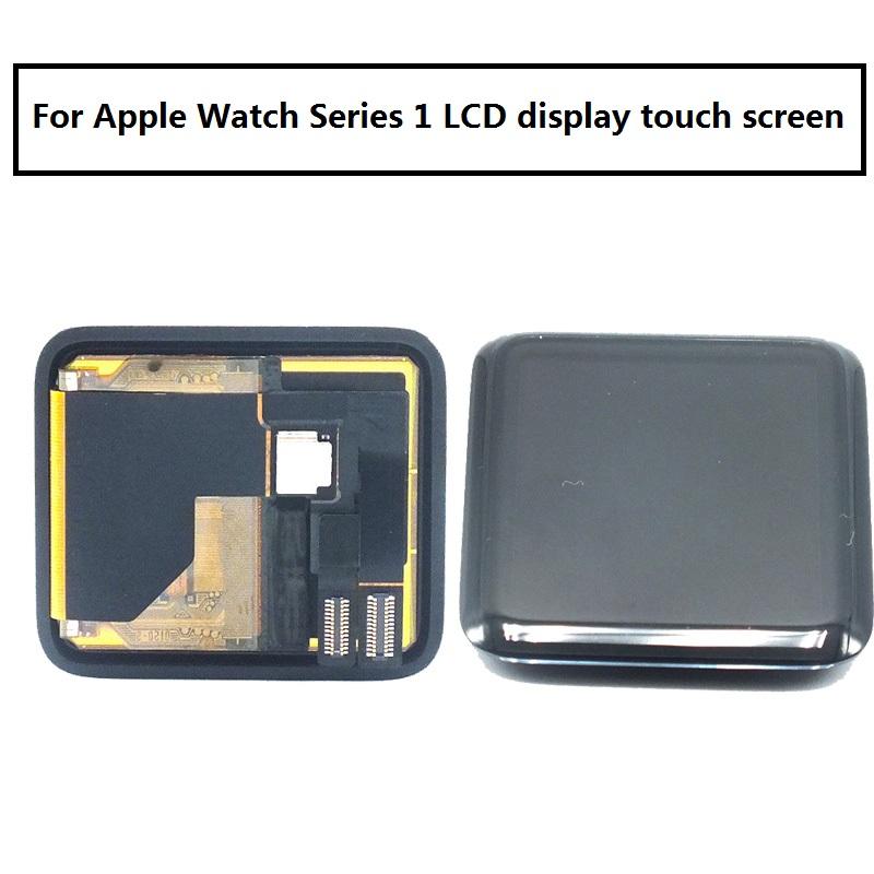 Prix pour Livraison DHL D'origine Pour Apple watch Série 1 LCD Panneau à Écran Tactile Digitizer Assemblée 38mm/42 mmReplacement Pièces + adhésif