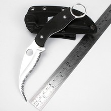 New Karambit Knife Spider Survival Knife Sharp serrated knife G10 handle camping Hunting knives  outdoor EDC Tools Free shipping