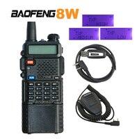 Baofeng 2015 8W Walkie Talkie UV 8HX Better Than Baofeng Uv 5r Baofeng Microphone Speaker Programming