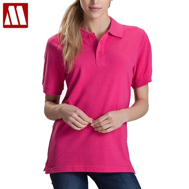 Women Men Unisex Cotton Plain Solid Black Blue Navy Red Polo Shirt Ladies Short Sleeve No Printing Polo Shirt S-3XL Shirts Tops
