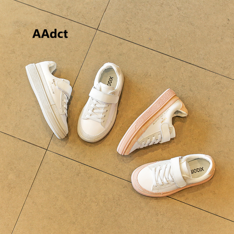 AAdct 2018 new children shoes girls running sports shoes sneakers Brand kids white shoes for boys High-quality 2017uovo fall children shoes boys and girls sneakers 3 hooks and kids shoes high quality sports running shoes for kids