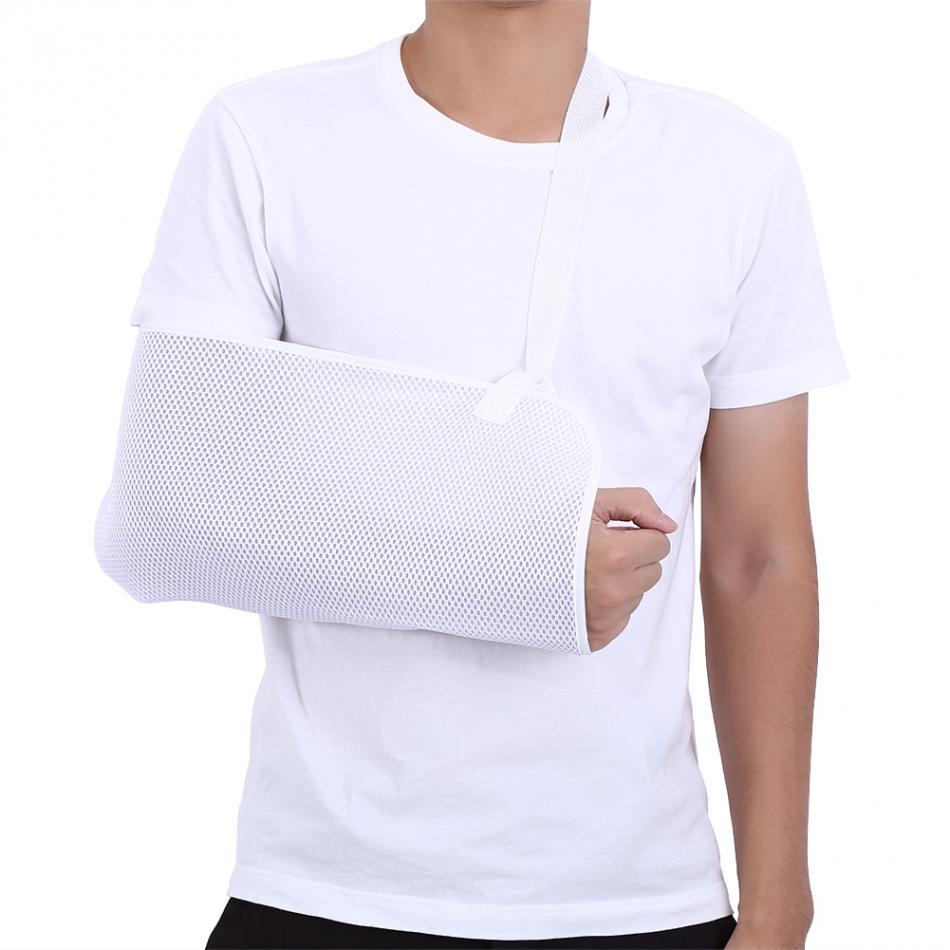Medical Mesh Arm Sling Adjustable Wrist Elbow Fracture Dislocation Support Shoulder Immobilizer Injury Sprain Arm Brace Sling